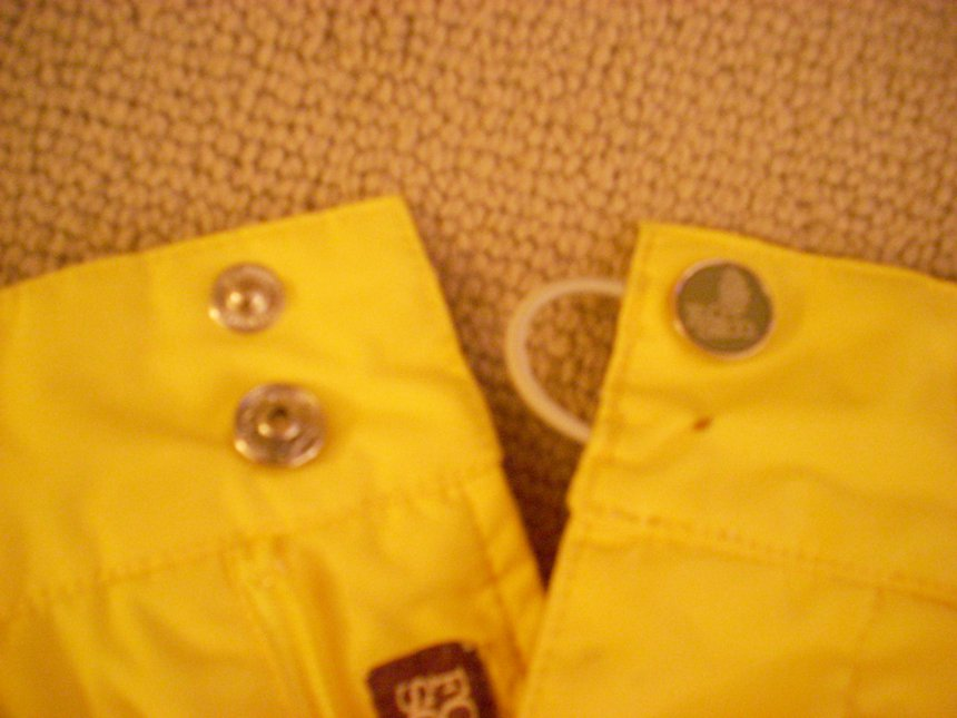 Yellow FourSquare Pants