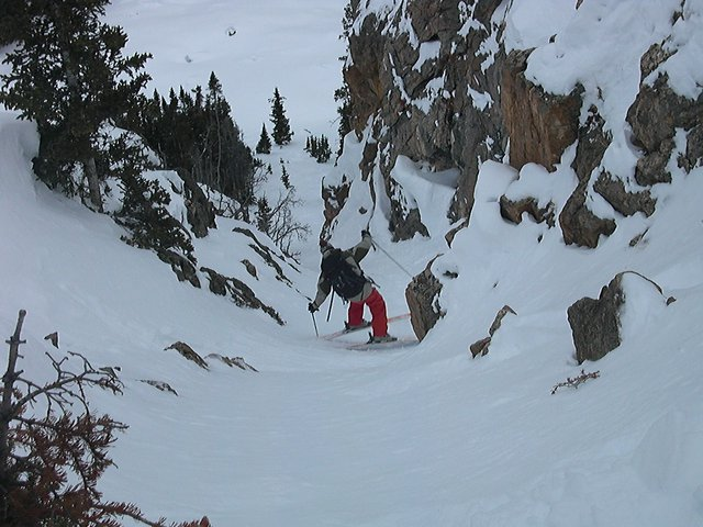 Skiing the Unknown