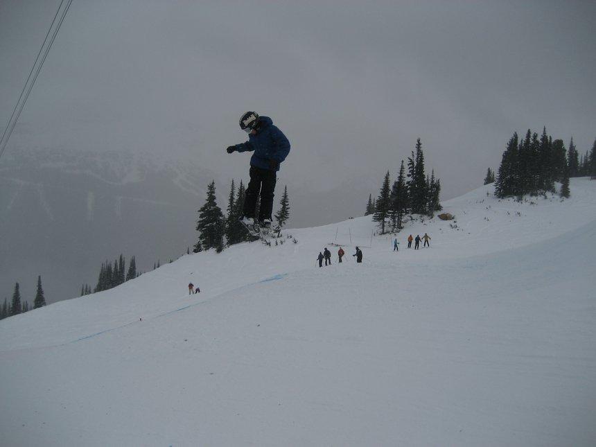 Whistler jumps