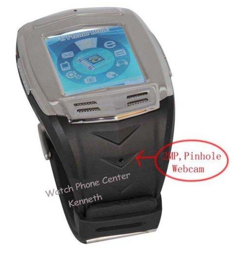 With pinhole camera wrist mobile phone