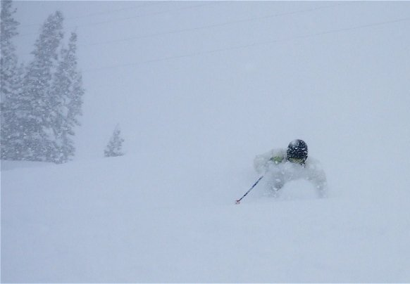 Alta Powder Feb 18, 2009