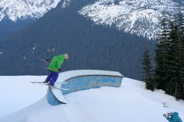 Sliding the coping