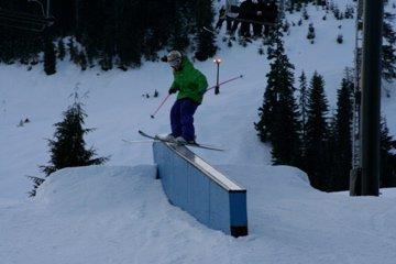 Snoqualmie down ledge