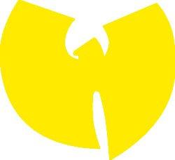 Wu Tang Clan Sticker on my helmet so happy
