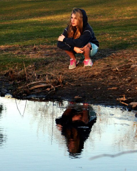 Chillin at the pond
