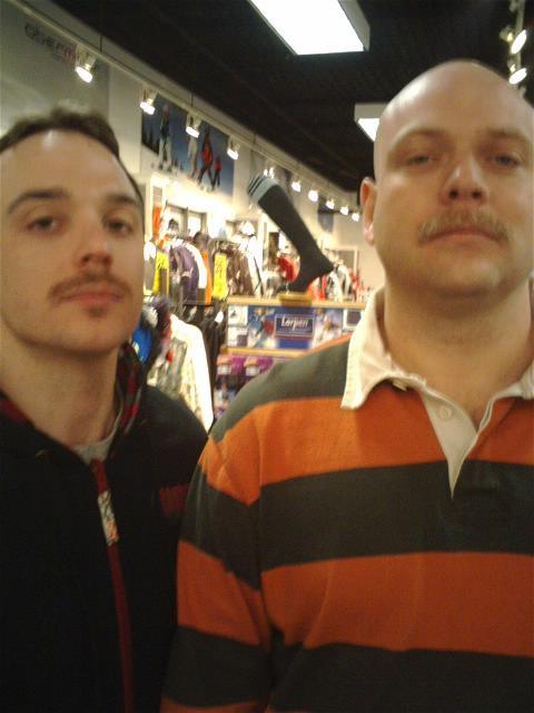 Mustache march