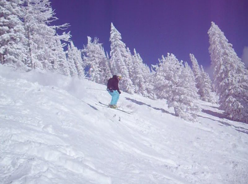 Litttle air at the Targhee