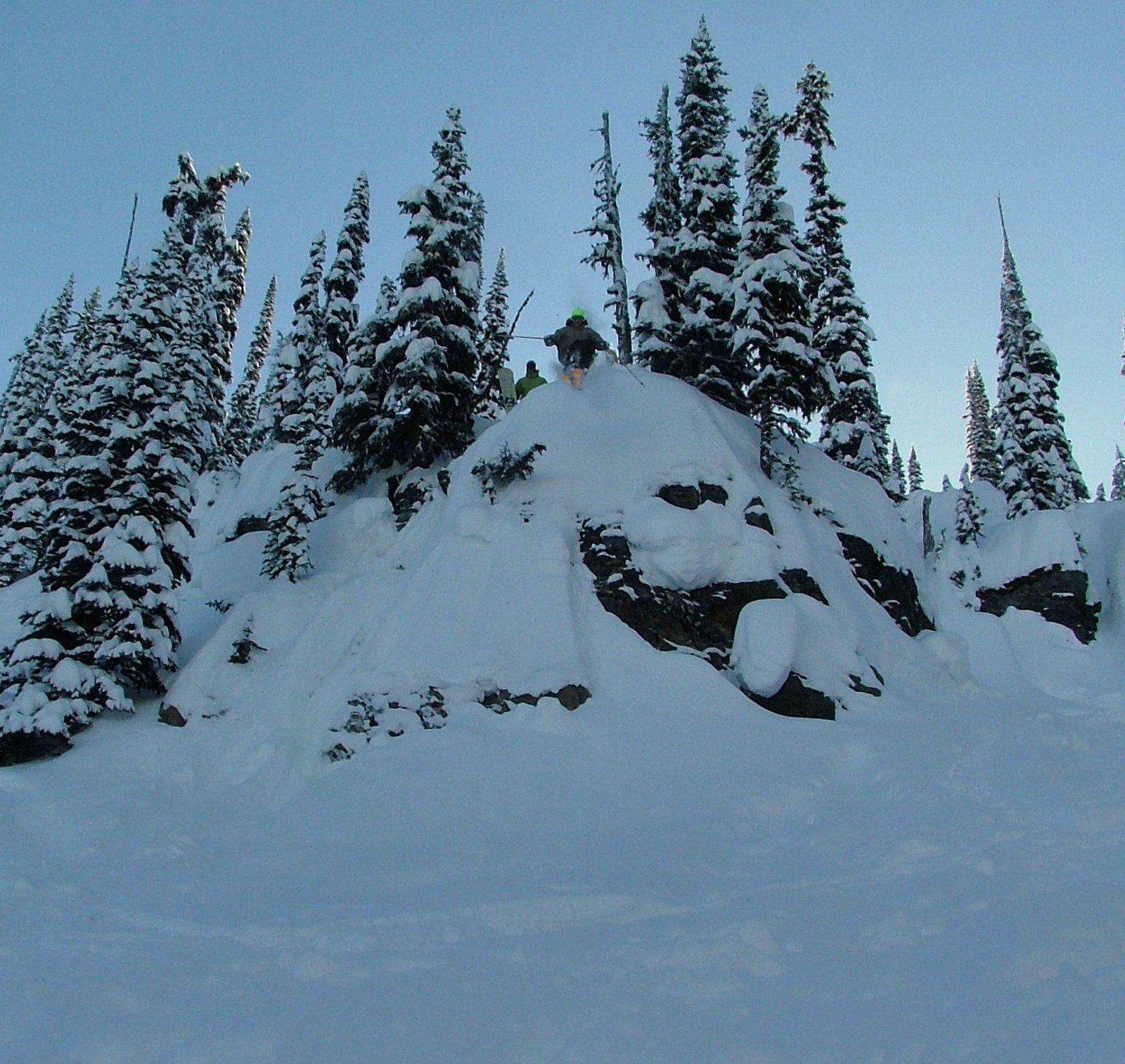 Pow revelstoke smaller drop