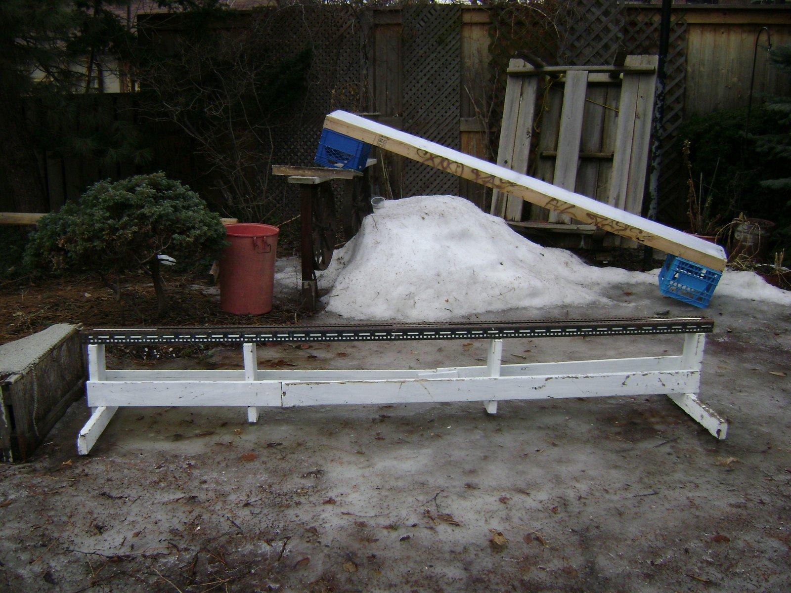 10' meatla rail