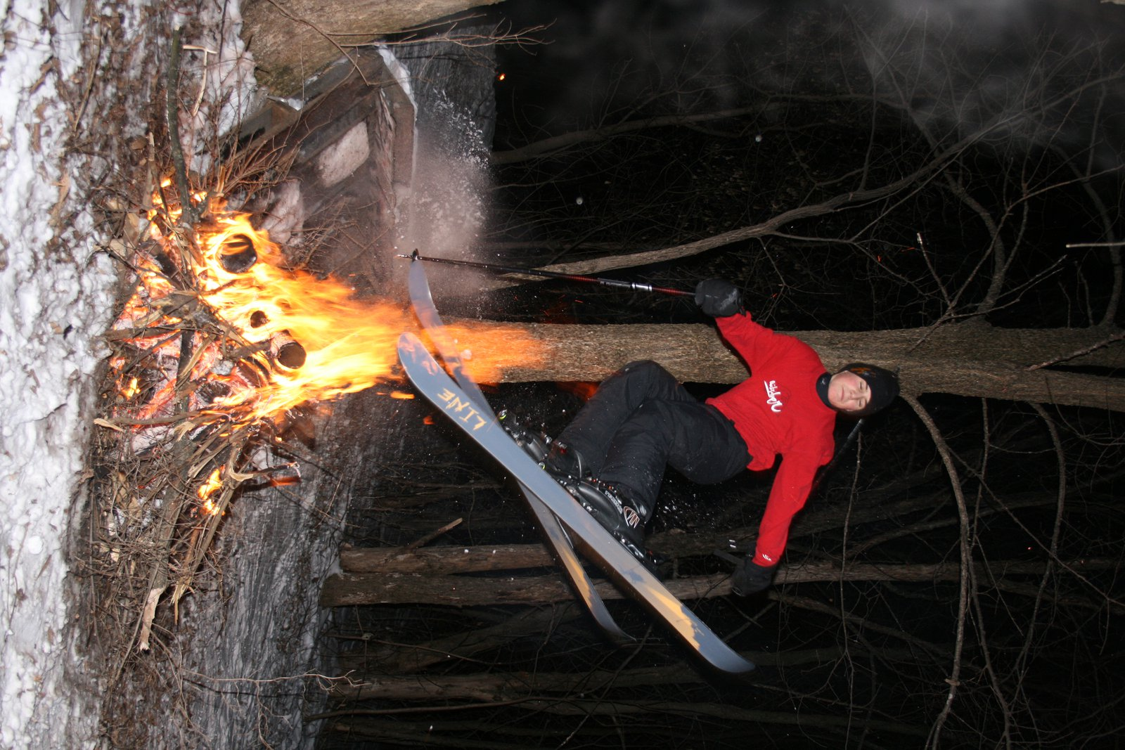 Jumpin' the fire