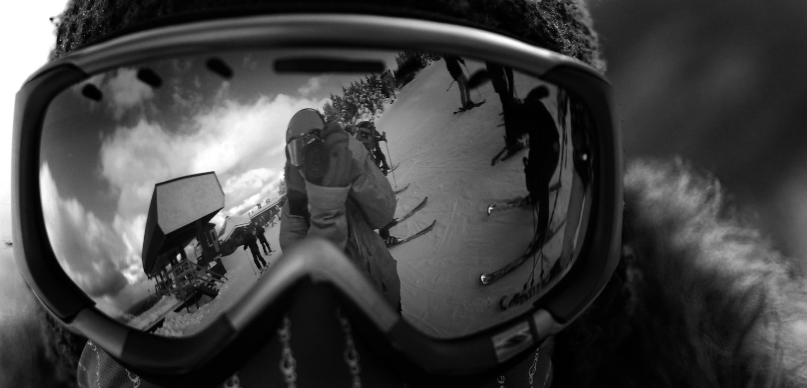 Reflection in Goggles