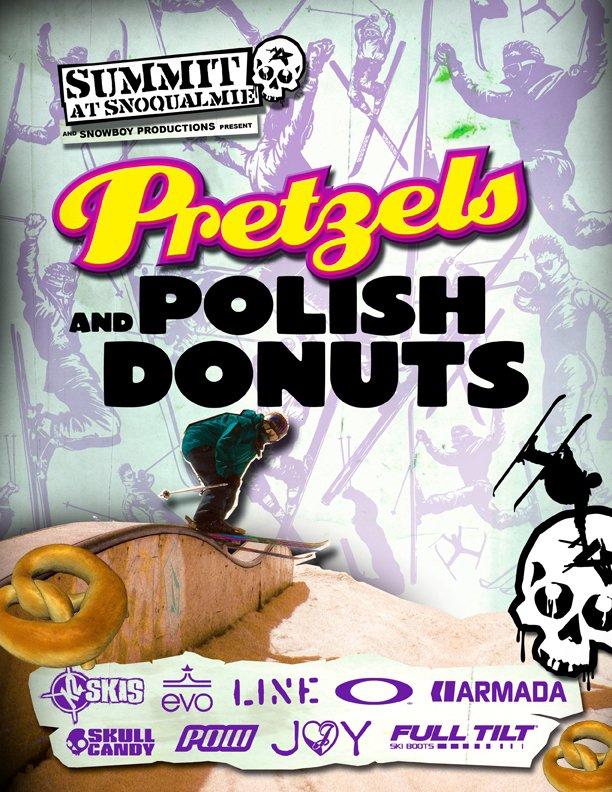 Pretzels and Polish Donuts POster
