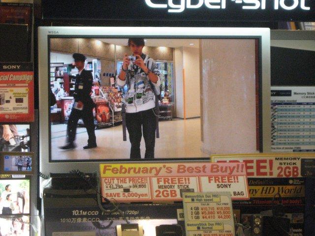 Me and japanese security at new narita