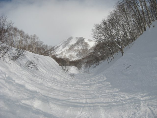 Natural Halfpipe, Niseko backcountry