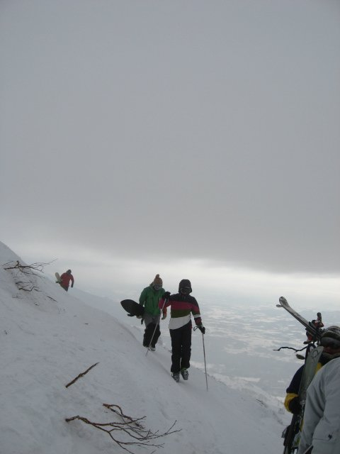 Hiking to the Backcountry
