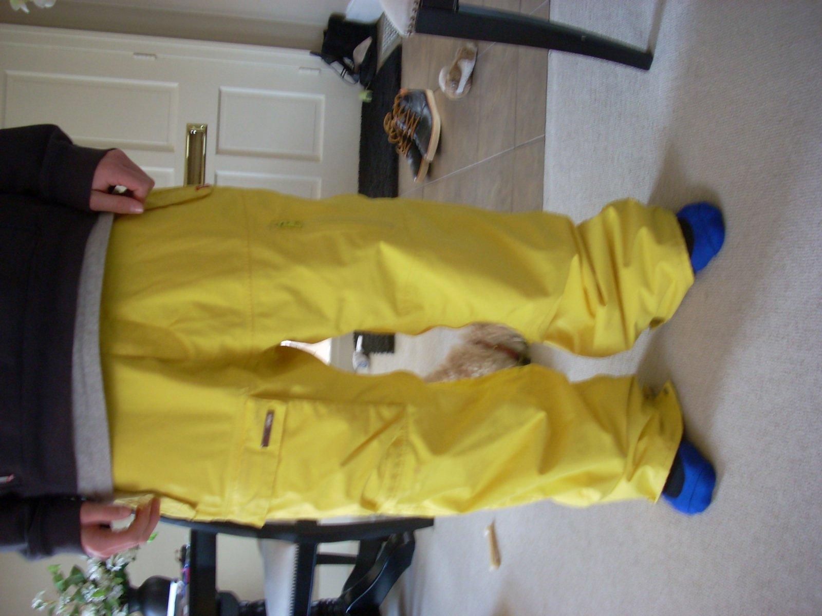 XL 4SQ pants no sag