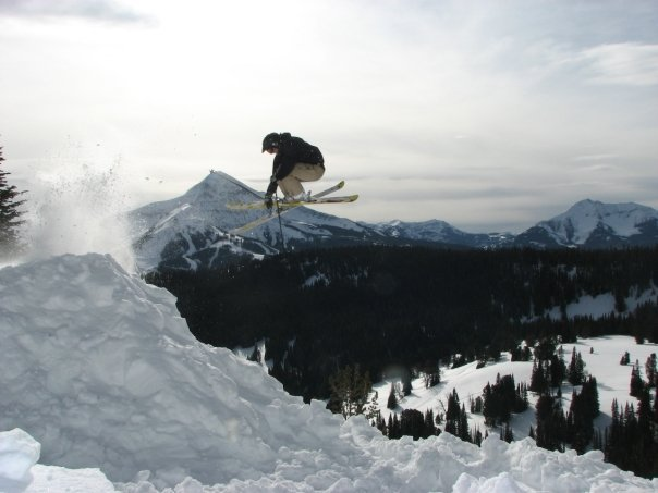 Booter in the Beehive Backcountry