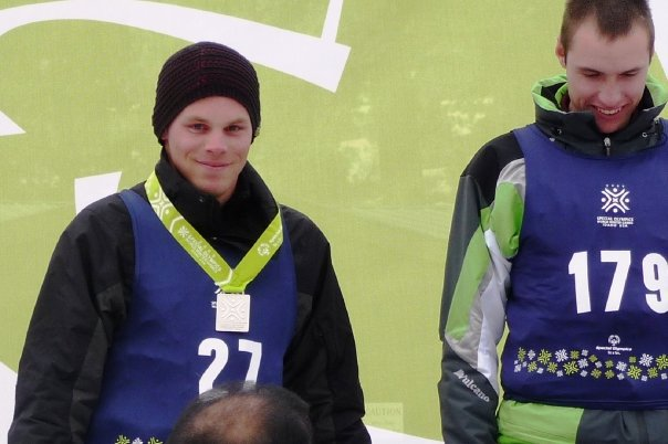 Silver medal in super g