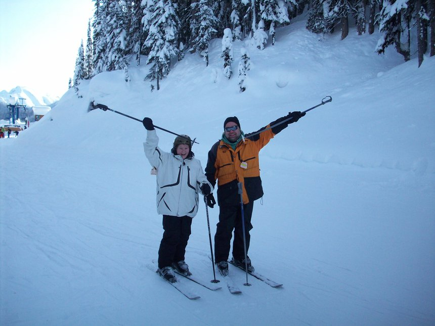 2008 ski trip to manning park