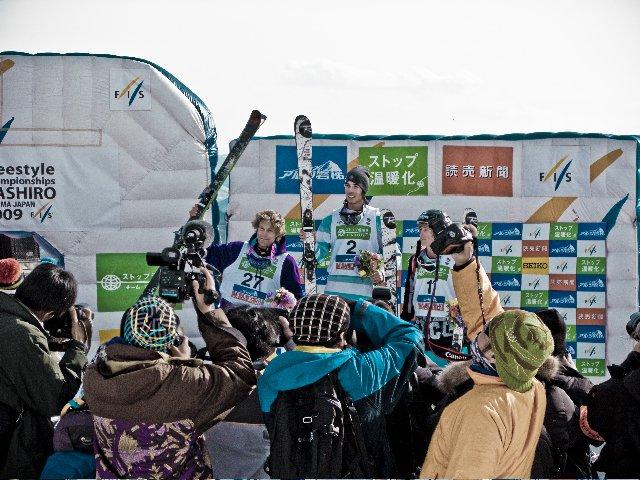 FIS Worldcup Halfpipe Podium 2009