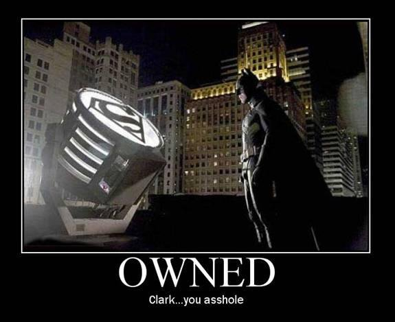 Batman owned