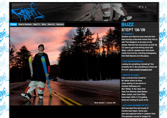 New Stept Website - Check it out!