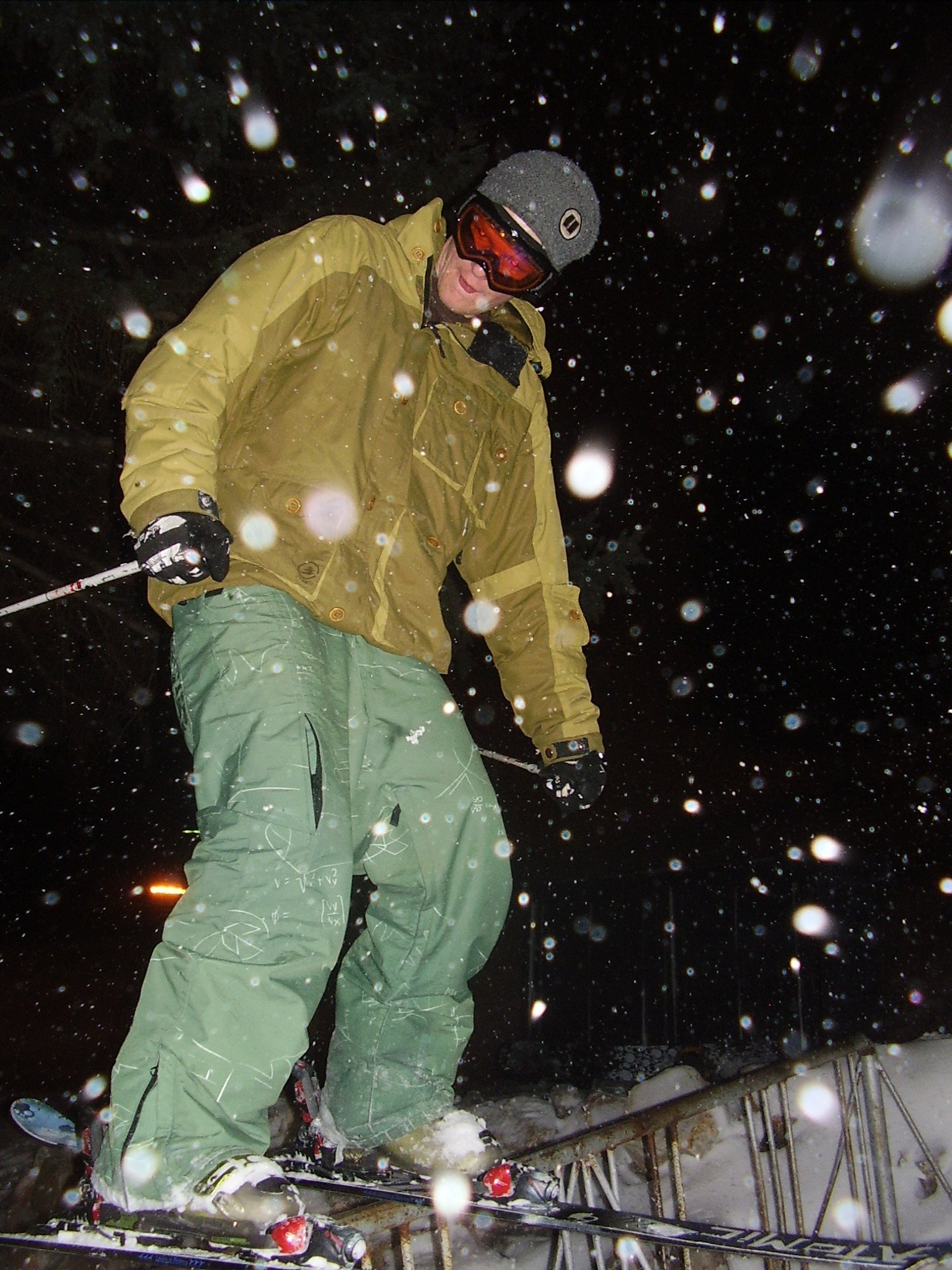 Tappin some more rail