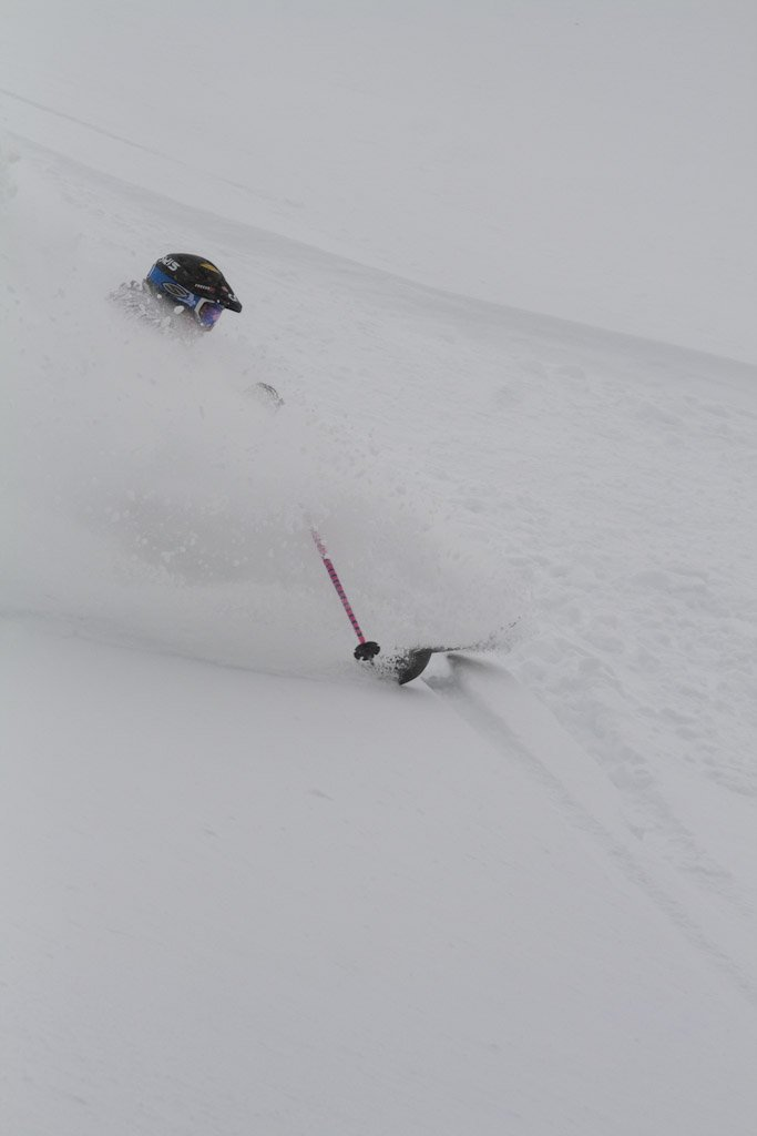 Nice deep snow at Cat Ski Mount Bailey