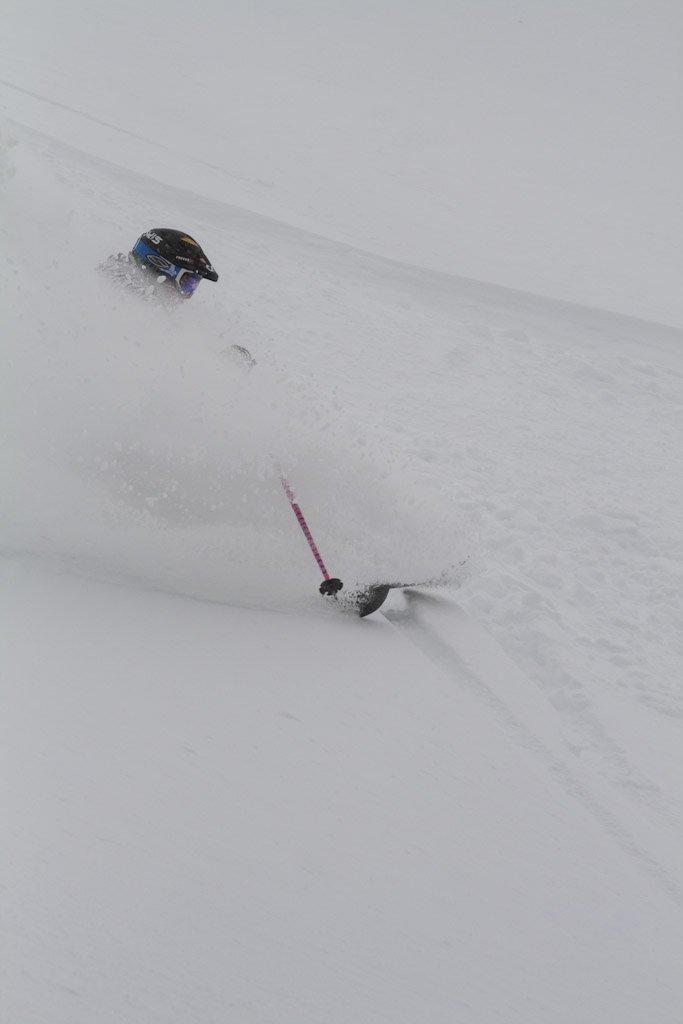 Nice deep snow at Cat Ski Mount Bailey