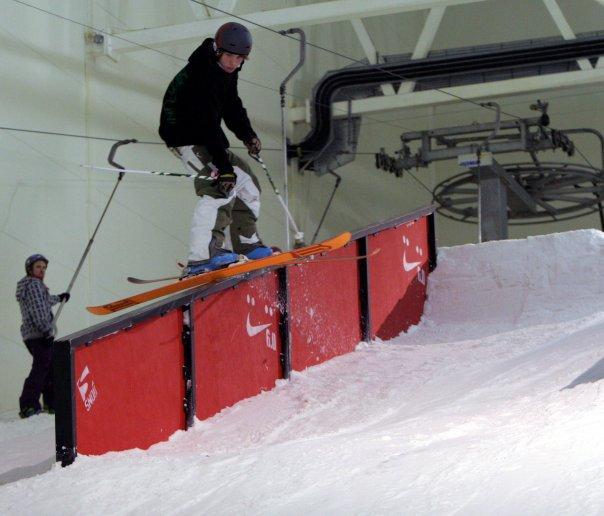 Me on the Nike 6.0 rail at CasVegas