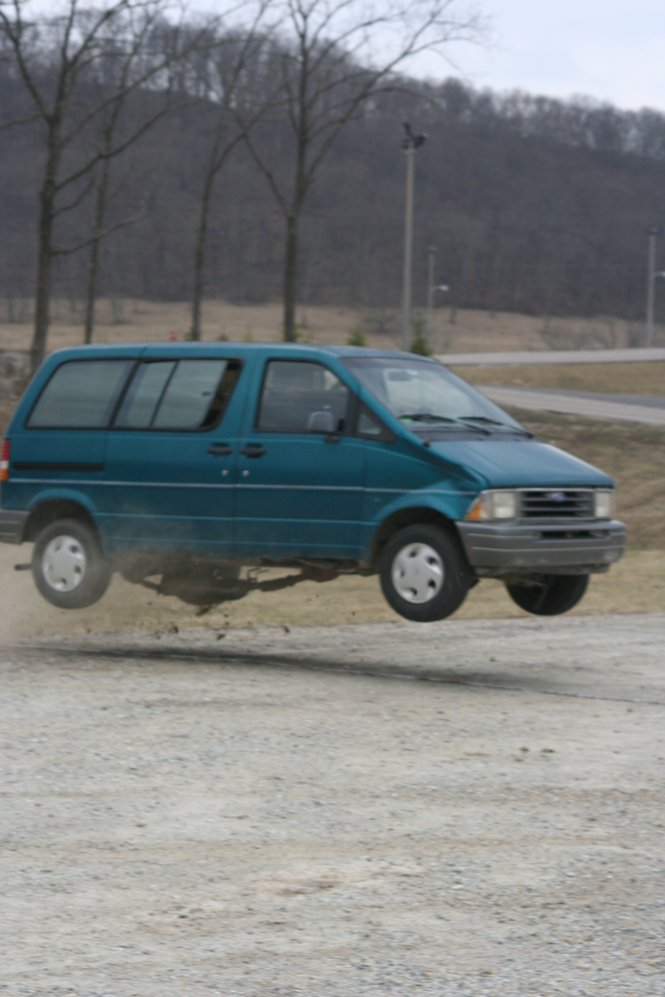 Van jump