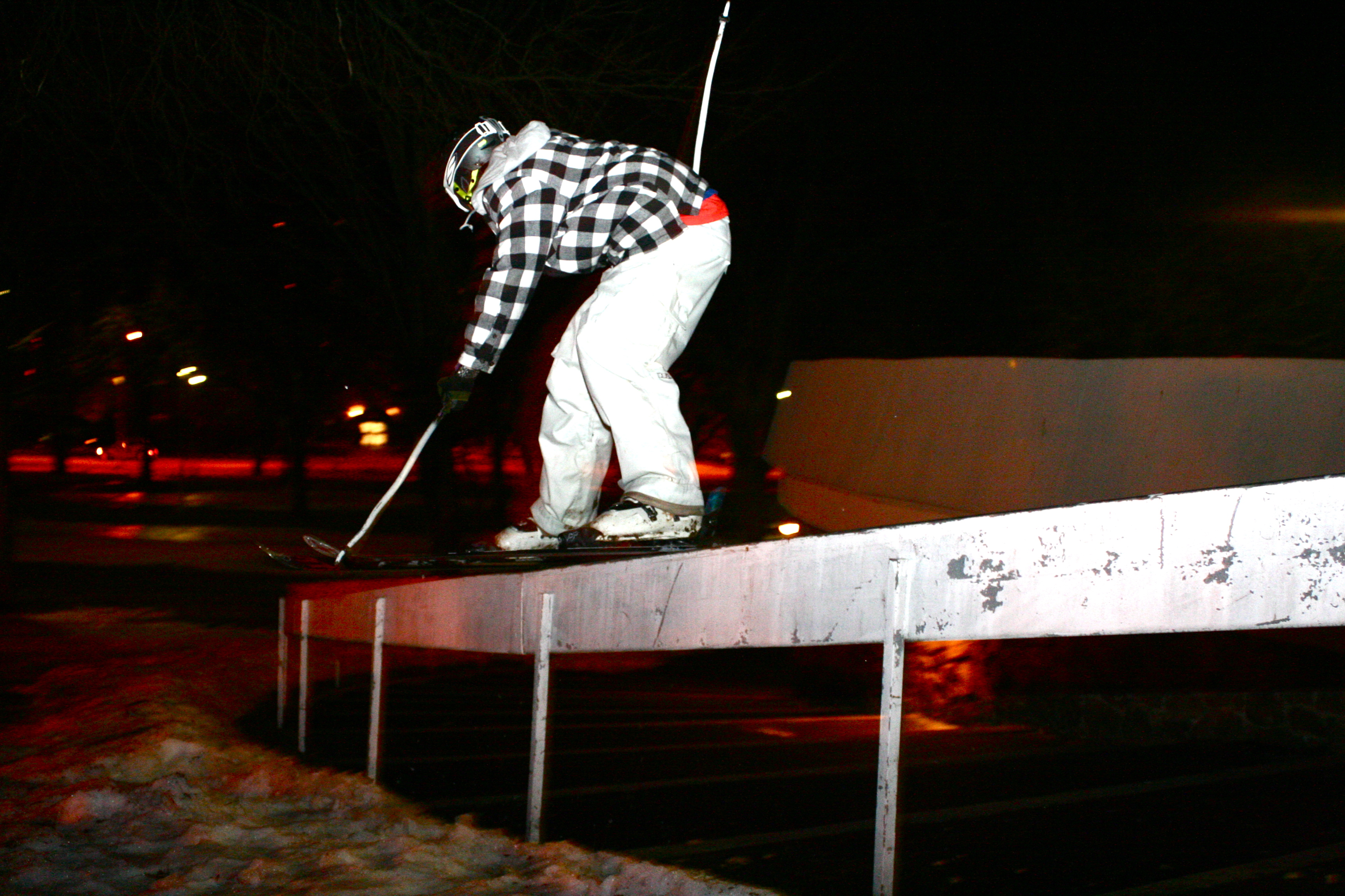 Troy C-rail night shot