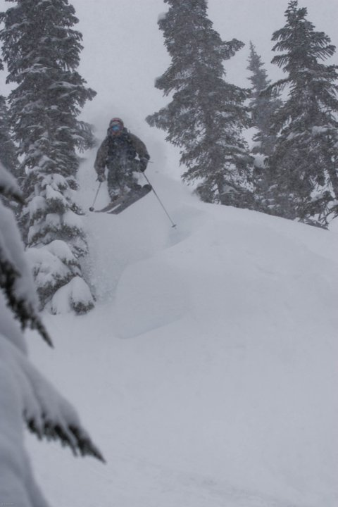Another powder drop