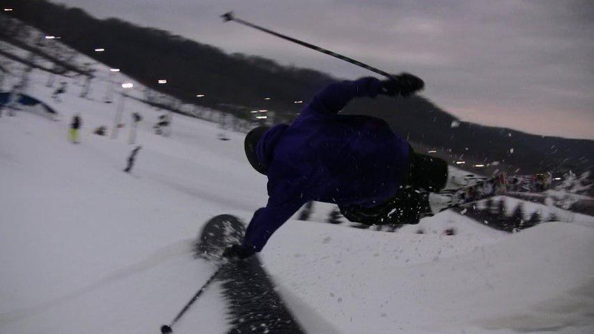Video Still: Dan hand drag