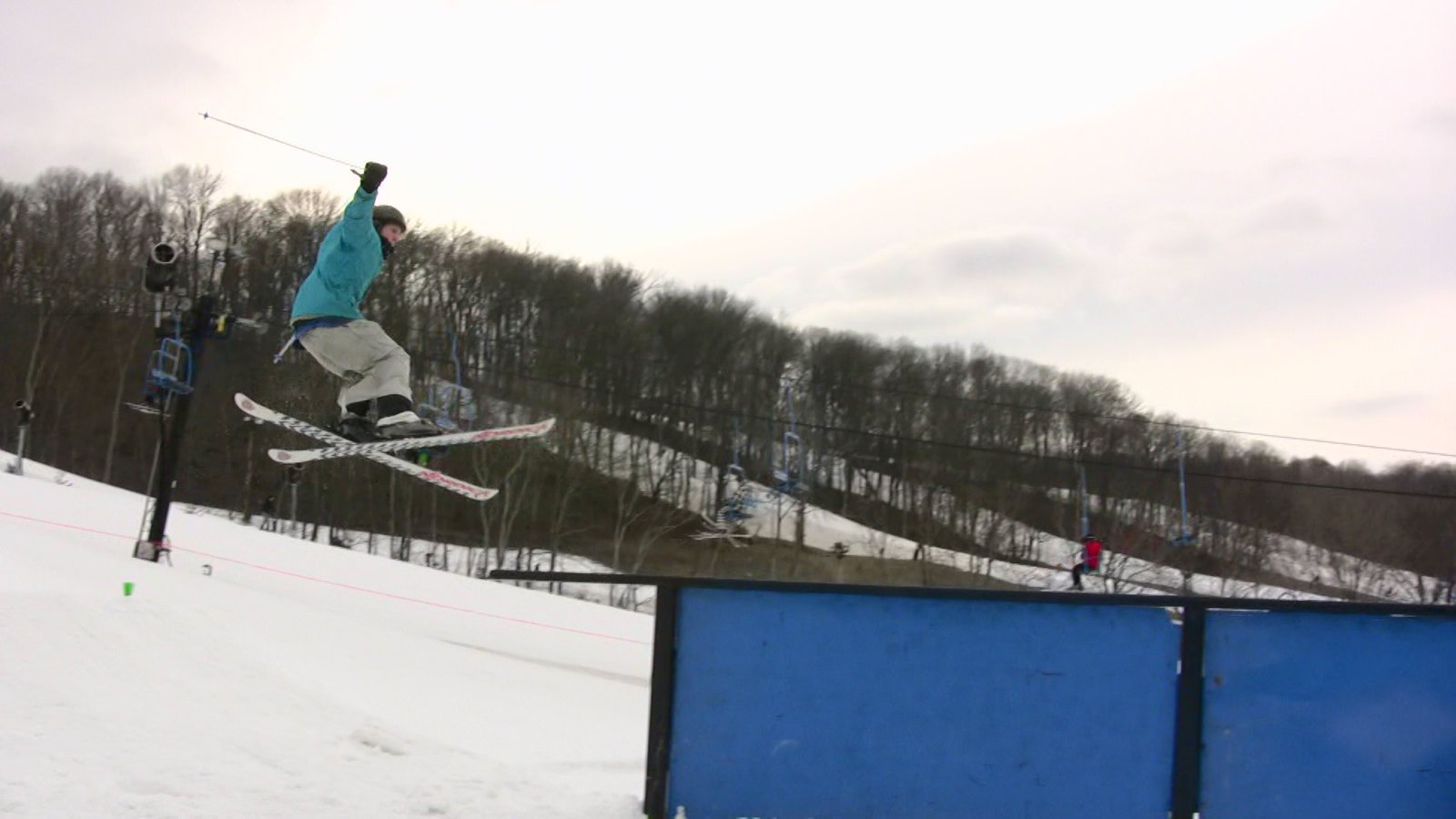 Viseo still: sam onto tall-t rail