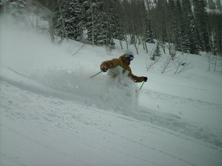 More snowbasin pow