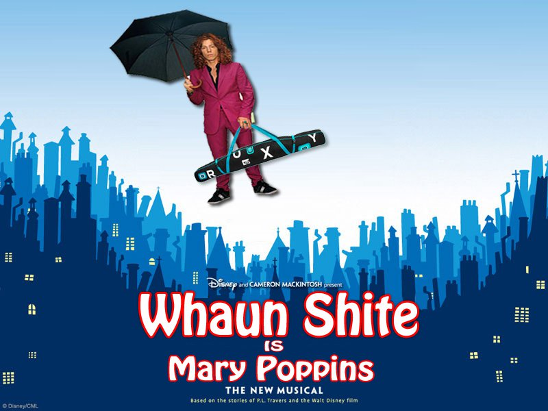 Shaun White is Mary Poppins