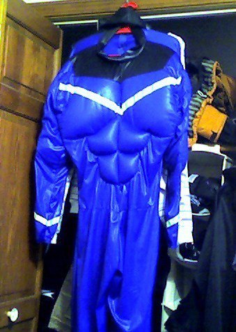 Superhero / gaper day suit FS