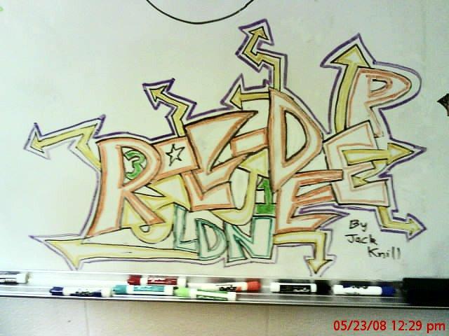 Whiteboard art