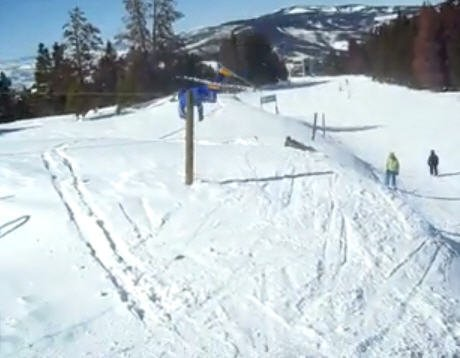 Wrong way to back flip a rope