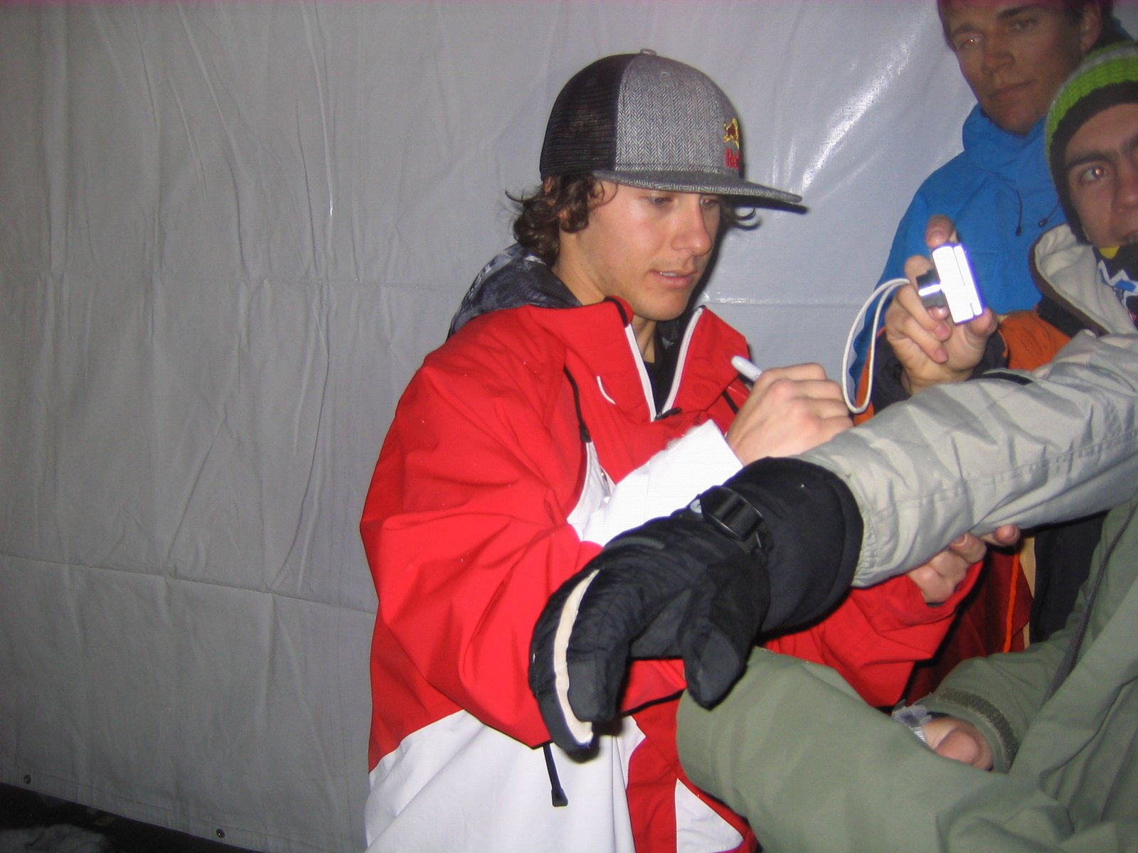 Simon signing for me.