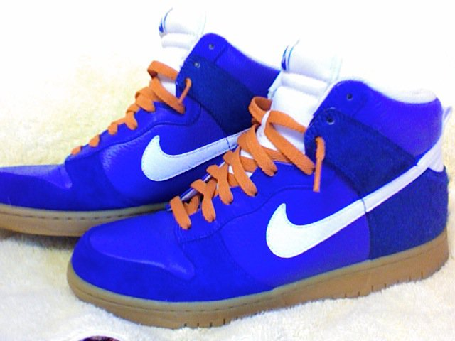 Nike High Dunks Blue Size 9 For sale