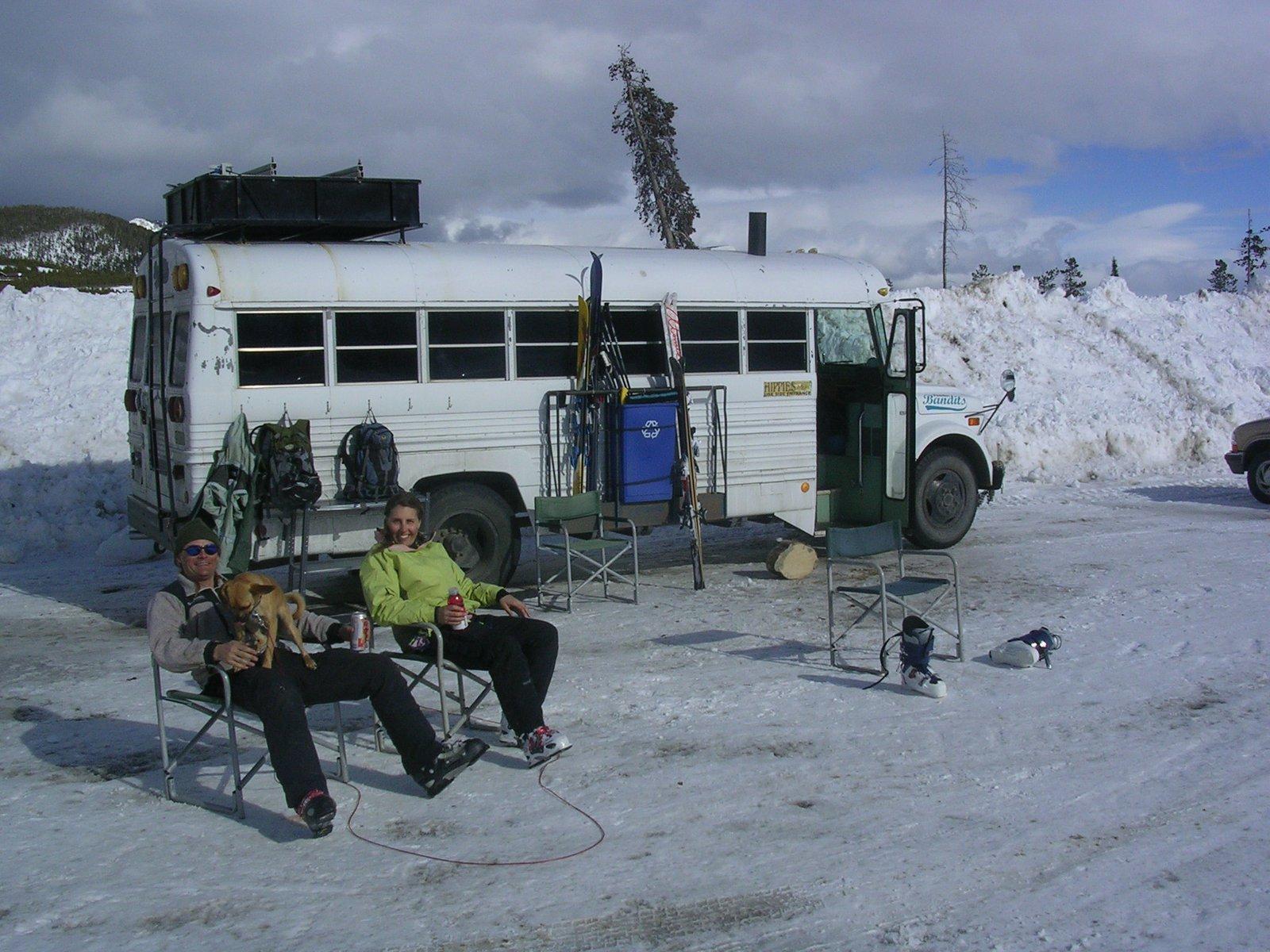 The Powder Bandit Bus