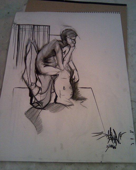 30 min figure drawing