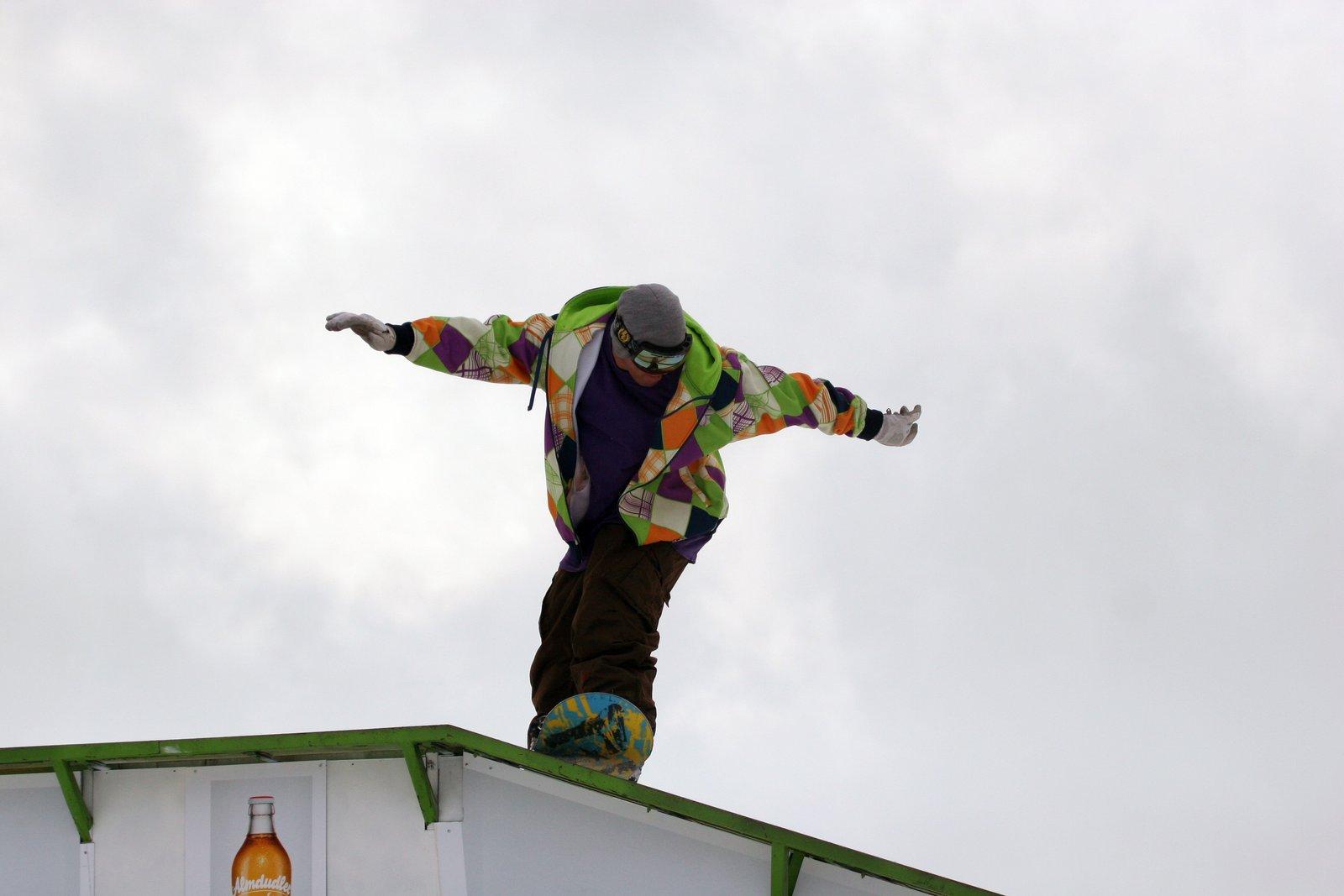Snowboard bs kink