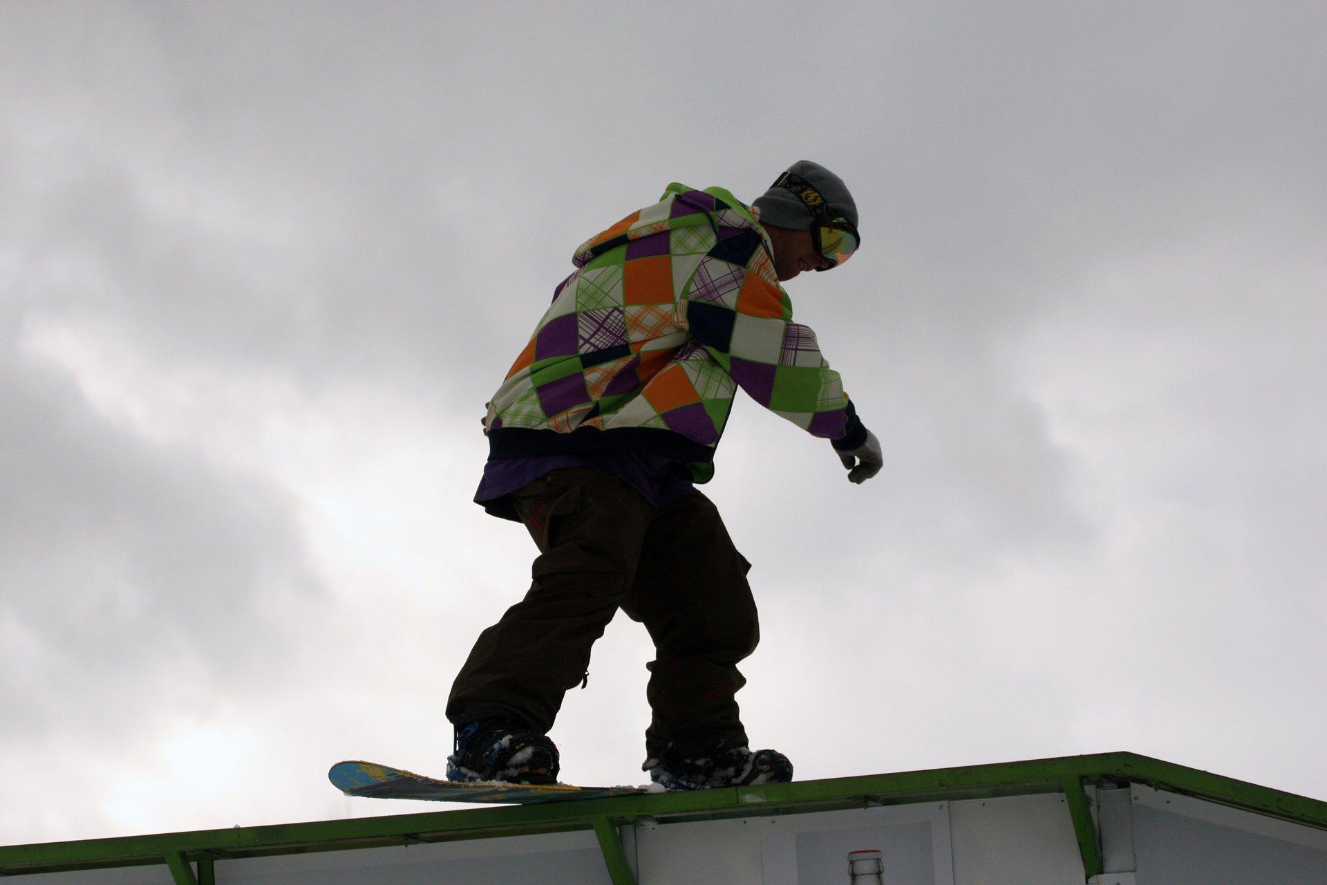 Snowboard bs kink #1