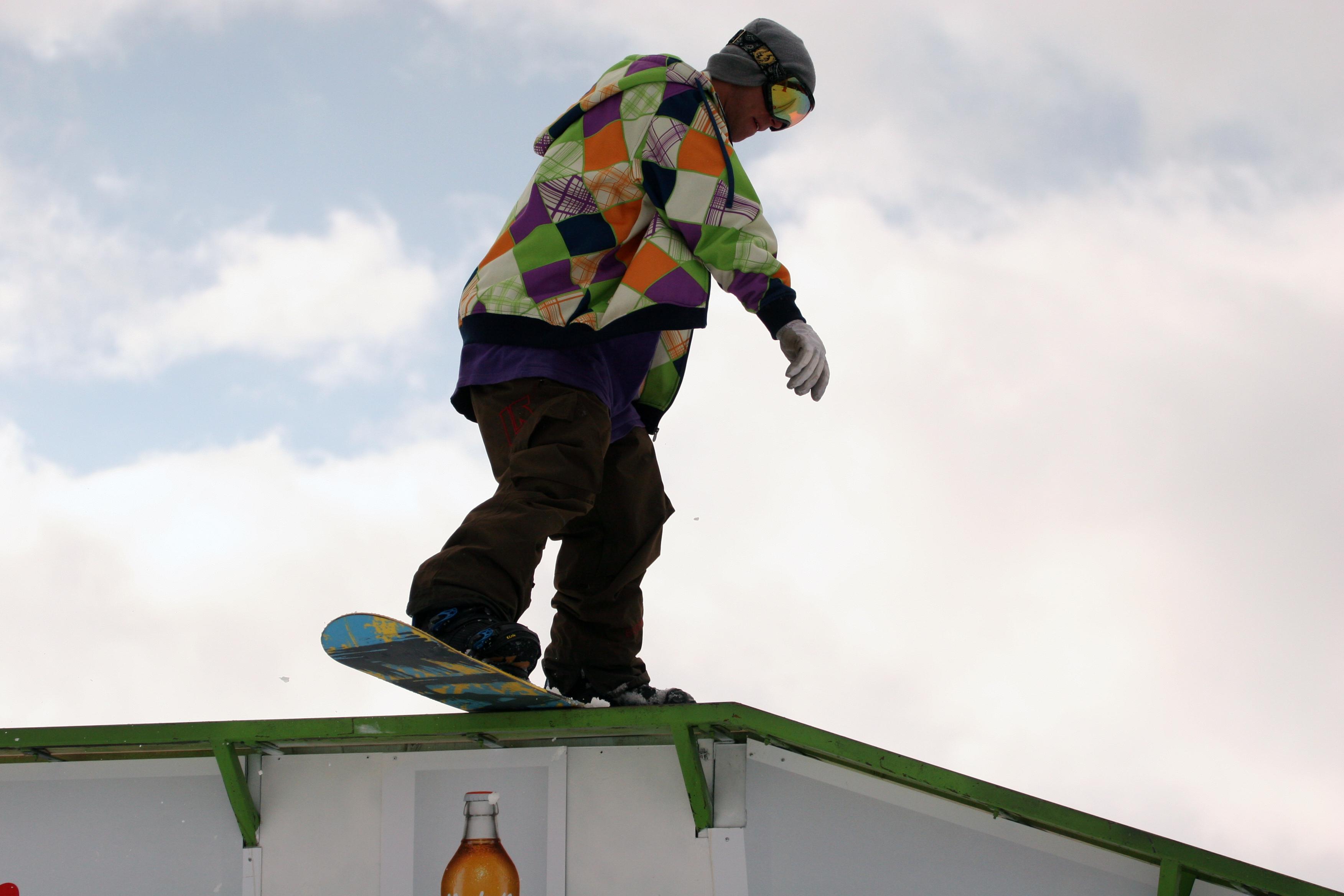 Snowboard bs kink #2