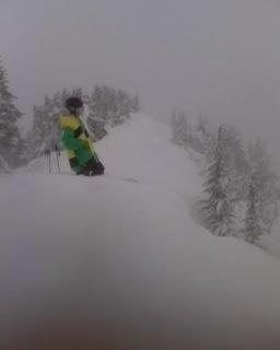 Powder on Cowboy Ridge