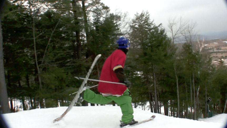 Flexible ski