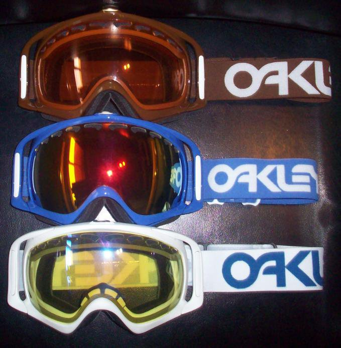 Half Of The Stretch/Bloc/Retro Oakley Crowbars